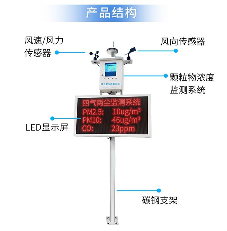 空气质量监测系统结构