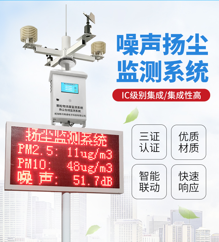 噪声扬尘监测系统